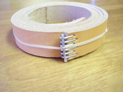 atlas logan craftsman lathe leather drive belt