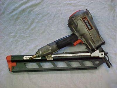 Paslode powermaster plus framing nailgun model F350S