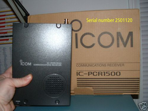 Icom pcr-1500 receiver pcr-1500 PCR1500 with dsp