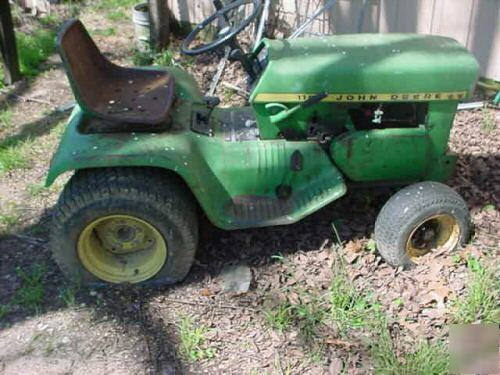 Antique John Deere Lawn Tractors : Vintage john deere lawn mowers
