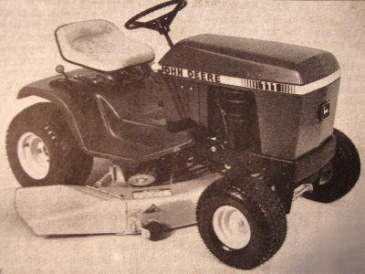 108 111 Lawn Garden Tractor Parts Catalog