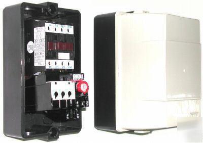 Enclosed Motor Starter Contactor Overload 17 21 A 120 V