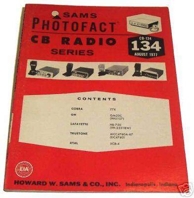 Sams photofact cb 134 august 1977 cb radio series for Lloyds motors jamestown nd