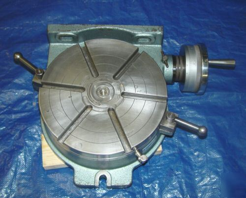 Yuasa 12 Quot Horizontal Vertical Rotary Table For Mill