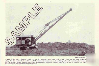 Vintage p h dragline