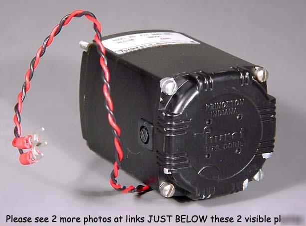 Hurst Dc Servo Gearhead Motor 12 Rpm Robot Robotics