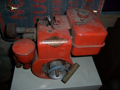 Vintage Cycle Briggs Stratton Motor Old Img