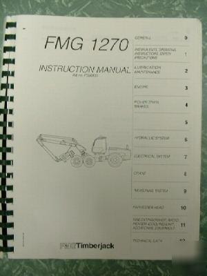 rare timberjack 1270 service manual rh machine tools com Timberjack 1270 Hardwood Timberjack 1270 YouTube