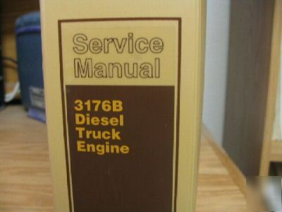Caterpillar 3176b Service manual yamaha 115 Outboard Motor