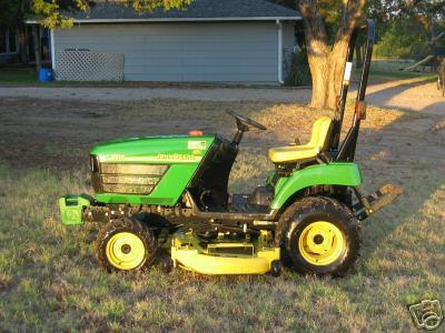 Vibration In Foot >> John deere 2210 4X4 tractor