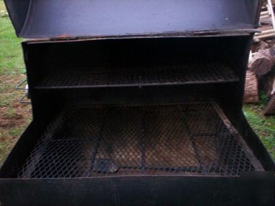 Homemade Bbq Grill Trailer W Jenn Aire Gas Stove
