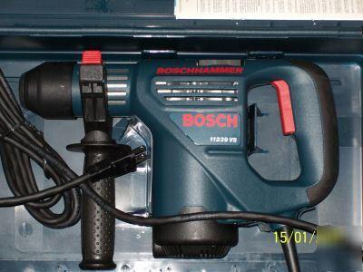 New Bosch 1 Quot Hammer Drill Model 11239vs In Case