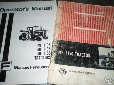 massey ferguson 1135 parts manual