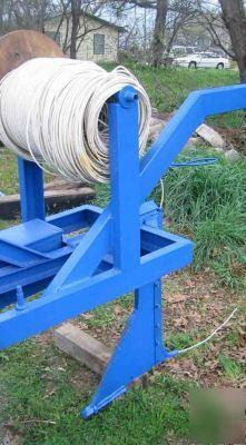 Silt Fence Cable Non Vibratory Plow Irrigation Erosion