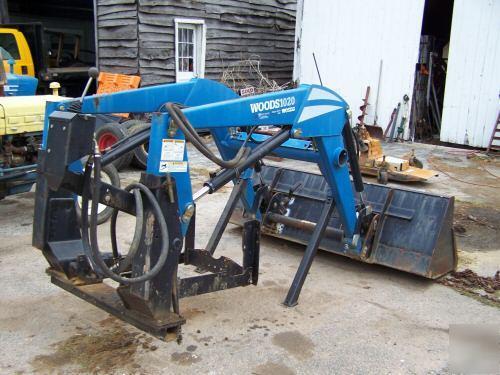Woods 1020 front end loader for various model tractors