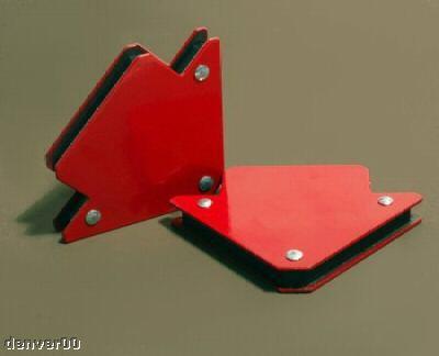 New 25lb Magnetic V Block Angle Plates X 2 Welding Tool