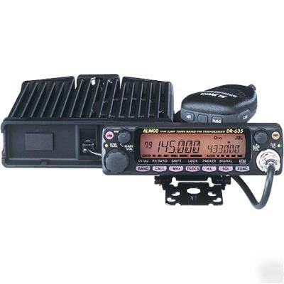 New alinco DR635 vhf/uhf transceiver...