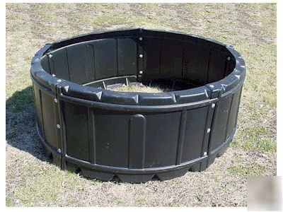 Poly 6 6 Quot Round Hay Feeder Free Shipping