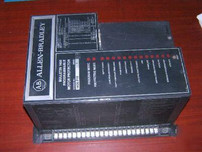 Allen Bradley Programmable Motor Protector 1406 P16