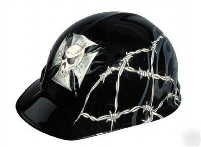 Skull Hard Hats Black Hellraiser Hard Hat w/