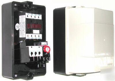 Enclosed Motor Starter Contactor Overload 26 32 A 440 V