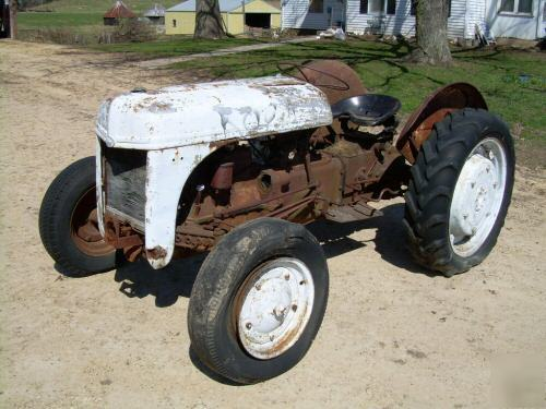 Ford 9n Parts : Ford n tractor for parts extra engine