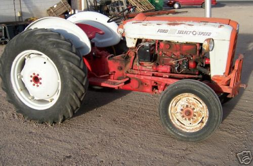 Ford Select O Speed Tractor For Restoring Img