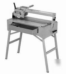 1.5 hp bridge tile saw with stand 91009