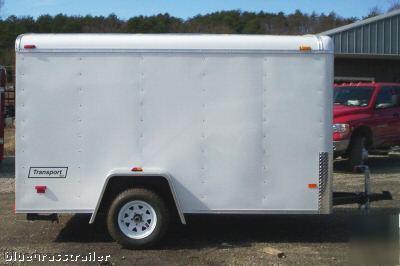 Haulmark 5x10 Enclosed Cargo Carrier Trailer 153137