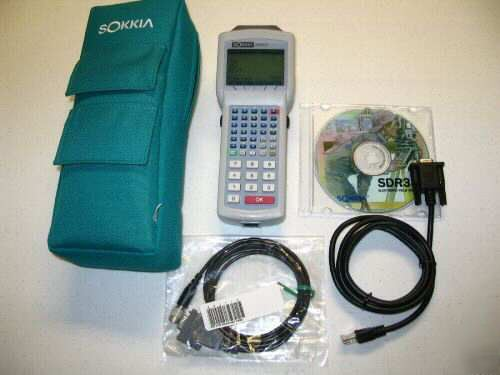 Like new sokkia SDR31 640K data collector perfect cond.