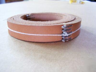 south bend lathe leather drive belt 3 4 quot wide