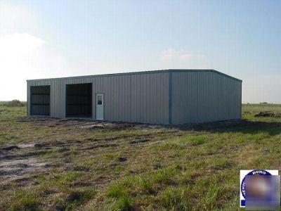 New Amerduro Steel Building 40x80x16 Metal Buildings