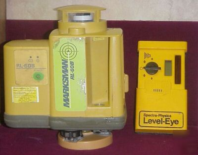 Topcon rl-60B rotation laser level in case