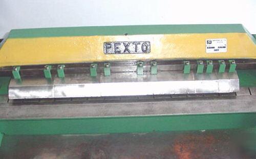Pexto 36 Quot Bench Finger Box Pan Sheetmetal Brake Bender