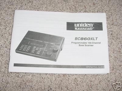 uniden bearcat model 860 xlt manual uniden bearcat bc100xlt manual pdf uniden bearcat bc200xlt manual