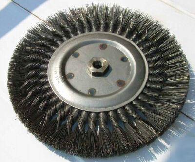 New Milwaukee 10 Inch X 5 8 11 Wire Brush Wheel