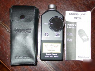Sound Level Meter Radio