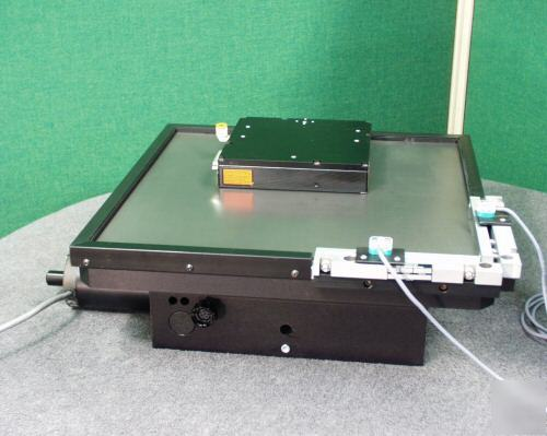 Baldor lmds dual axis linear stepper on a theta stage for Eastern air devices stepper motor