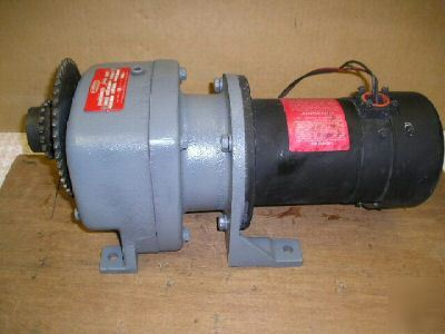 Dayton Gear Drive 29 1 Permanent Magnet Dc Motor 90vdc