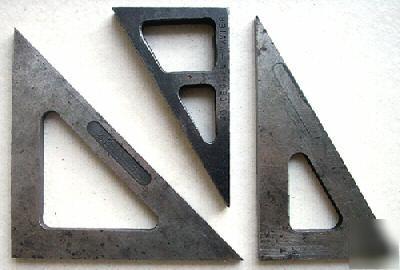 3 vintage precision angle plates 30 60 90 45 45 90