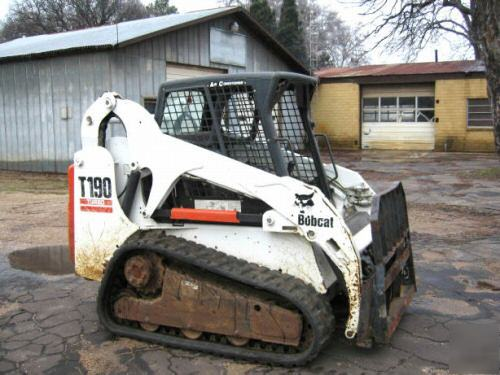 Bobcat T190 Skid Steer Track Loader 2003 2140 Hrs