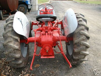 Ford 8N tractor 3 point hitch no loader, cultivator